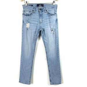 Hollister Jeans Slim Straight Distressed  29x32